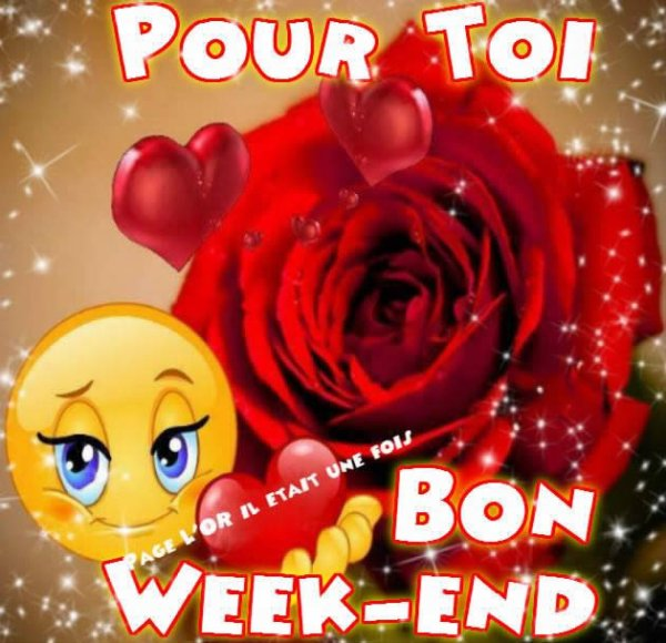 week end   bon w end à tous