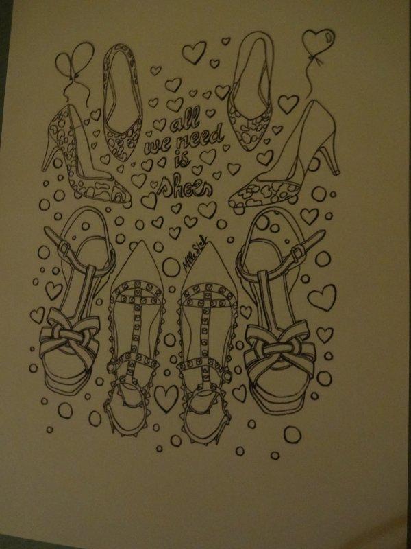 comme promis à une copinette j'ai fait le dessin