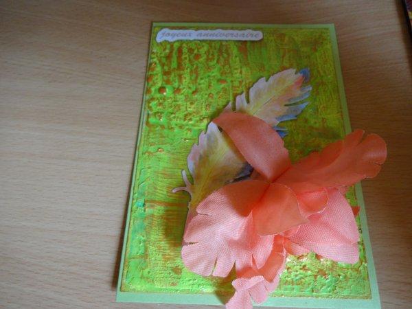 encore des jolies cartes pour monter ma collection  et un beau cadeau arrivé ce matin