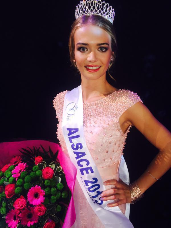 La Sélestadienne Laura Muller élue Miss Alsace 2015