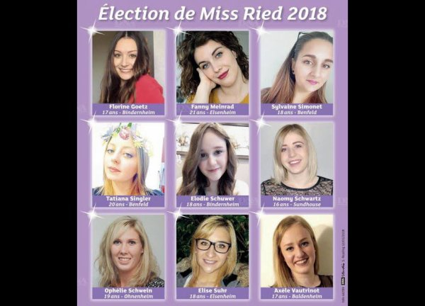Candidates Miss Ried