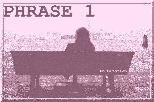 --> Phrase n°1