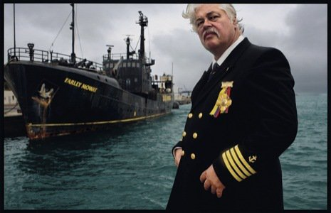 Paul WATSON et la Sea Shepherd Conservation Society