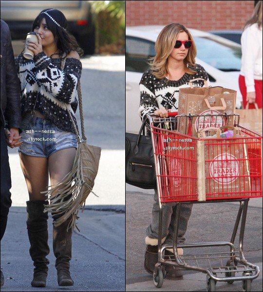 Ashley 4 décembre et Vanessa 3 décembre