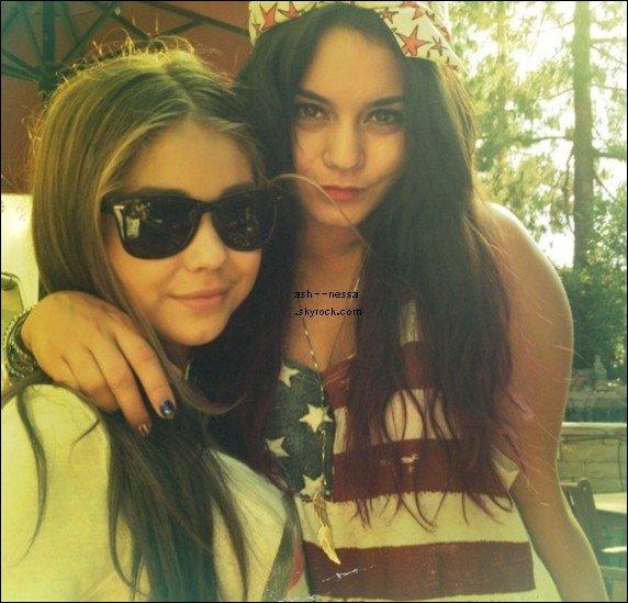 Ashley et Vanessa 4 juillet