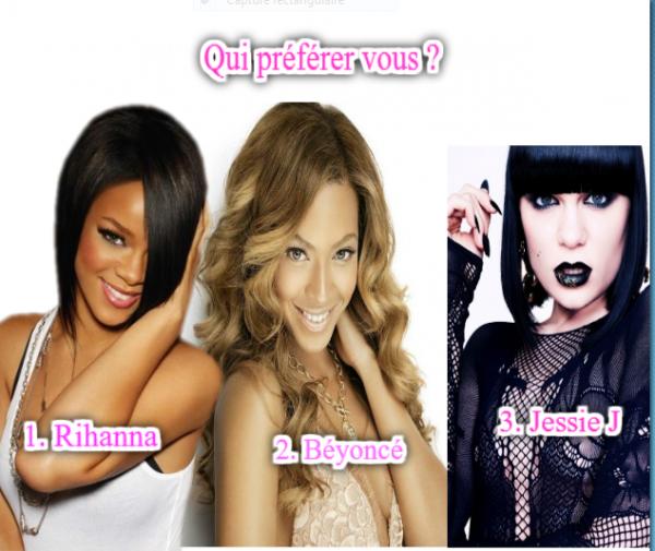 Laquelle préfériez vous ?