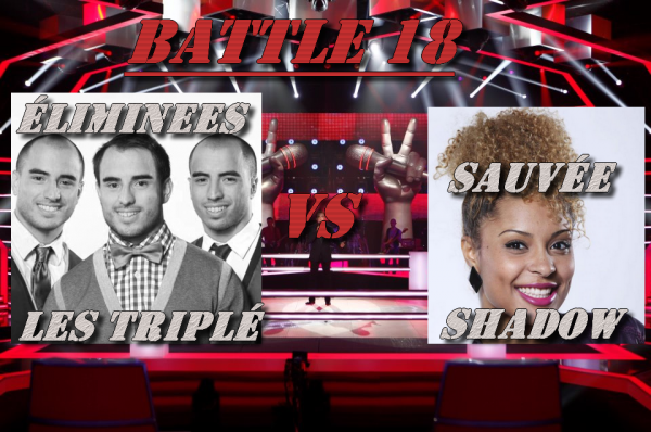 Battle 18 : les triplés vs Shadow