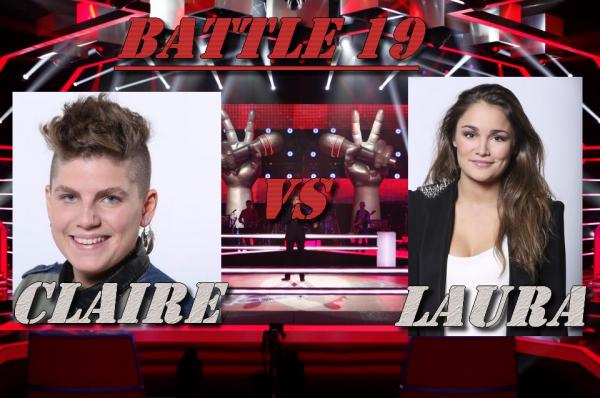 Battle 19 : Claire vs Laura