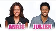 Anais et Julien les premiers candidat de ss7