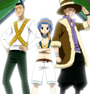 Personnage: Reby, Jett, Droy ( Les Shadow Gear )
