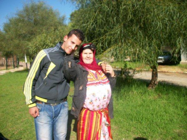 moi et ma grande mère a alger