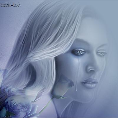 Femme En Larme femme en larme - crea-ice