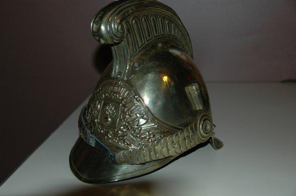 casque pompier 1855 de CULAN