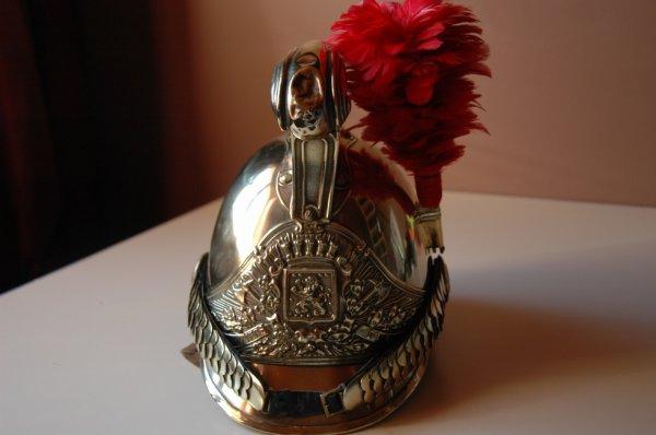 casque pompier 1855/72 leuze