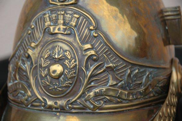 casque 1855 modifié 1872 de AHUN