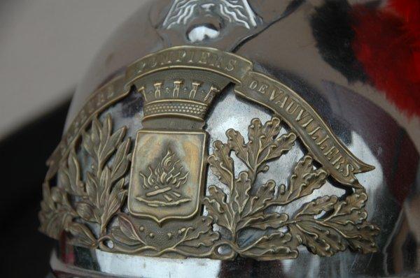 CASQUE 1895 OFFICIER DE VAUVILLERS