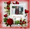 des coeur des rose