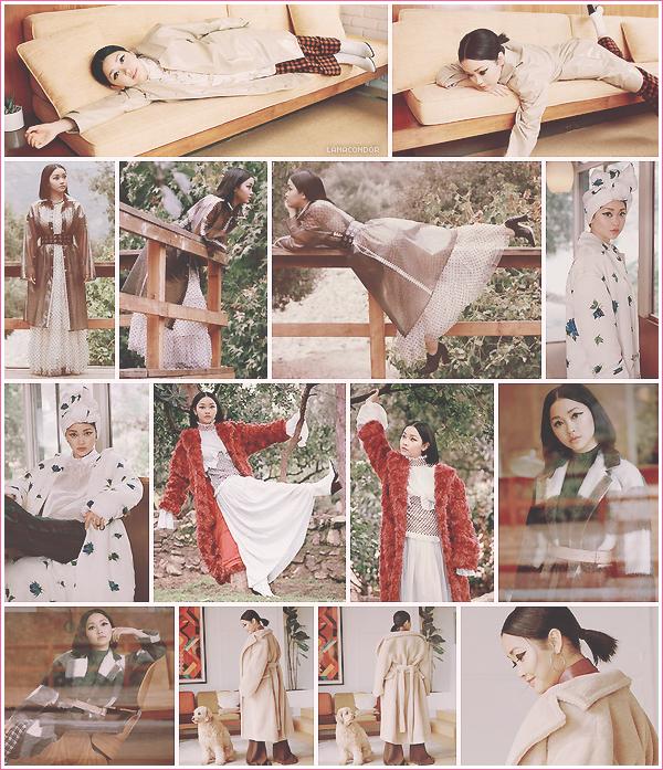 .  ▬ Découvrez un shoot de Lana pour le magazine Who What Wear. • par Paley Fairman .