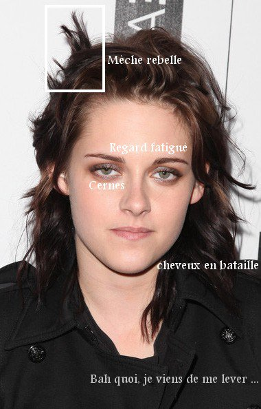 On aime le naturel de kristen :D