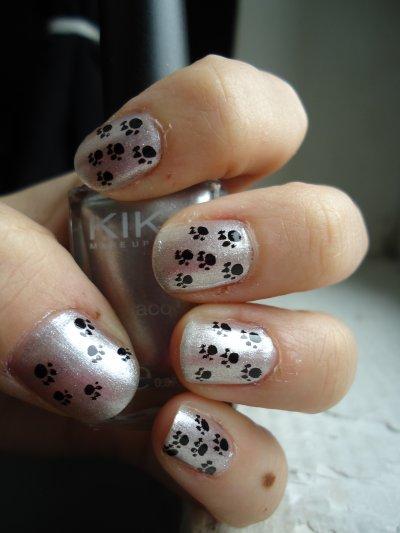 Stamping patte de chien :)
