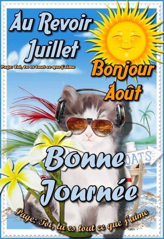 !!! BON MOIS D'AOÛT A TOUS !!!