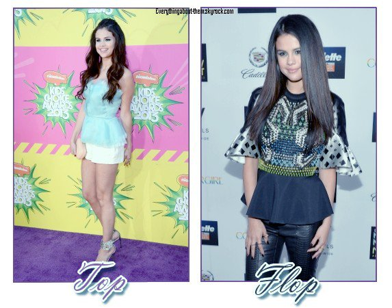• Selena Gomez