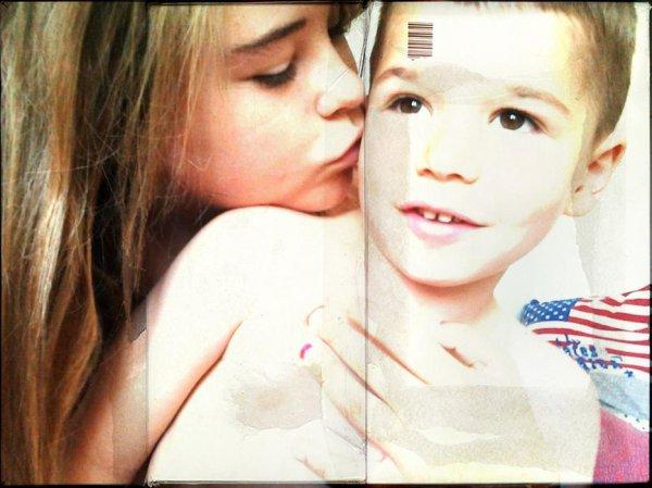 Mon petit frère , ma vie♥♥.