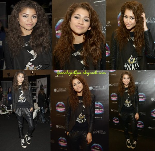 News photos du Twitter de Zendaya du 21/11/13