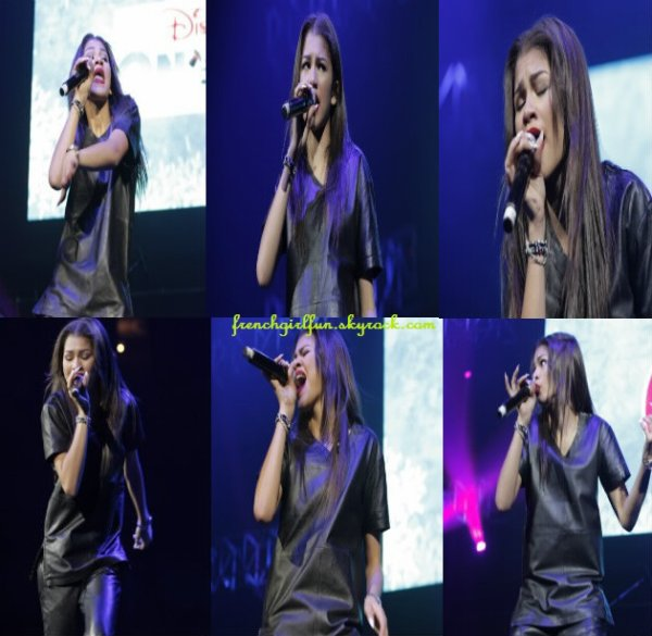 News photos de Zendaya performant pour 99.7 NOW Triple Show le 03/12/13 à San Jose