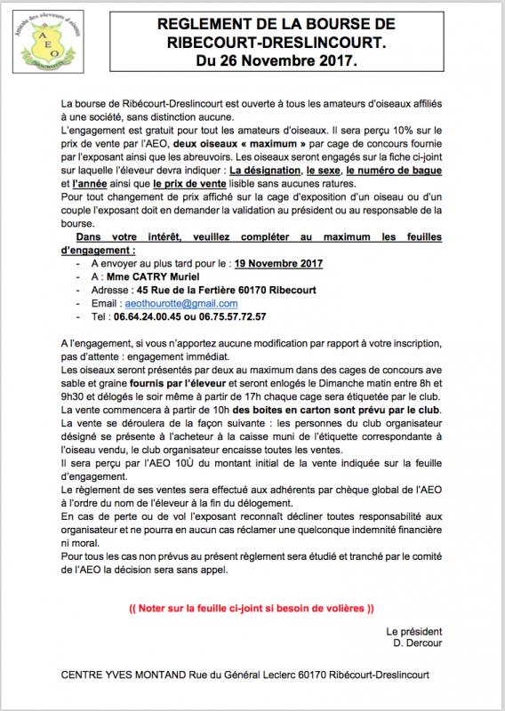 Exposition/Bourse Ribécourt-Dreslincourt