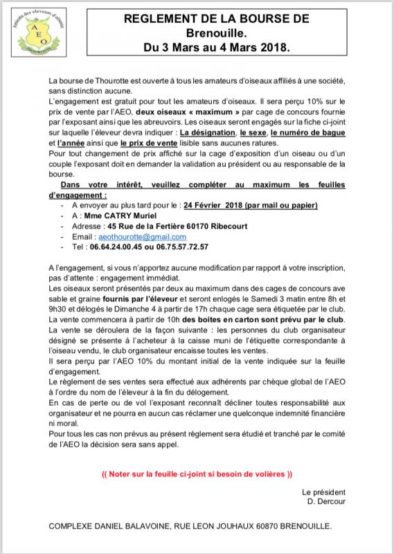 Bourse à Brenouille 60870
