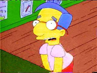 Milhouse le sky de bart - Bart et milhouse ...