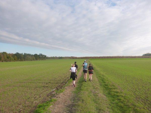 trail des vidames , vendredi 11 novembre 2016 , Somme ...