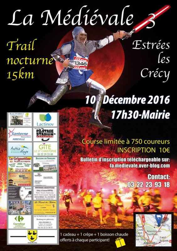 La Médiévale , 3eme édition , samedi 10 décembre 2016 , Somme ...