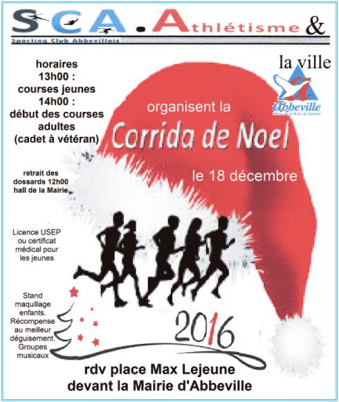 La Corrida de Noel , dimanche 18 décembre 2016 , Abbeville , Somme ...
