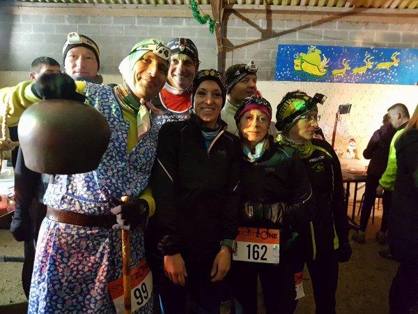 le trail du père Noel , Samedi 17 décembre 2016 , Huchenneville , Somme ...