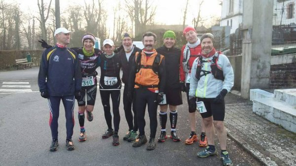 Trail du Blanc Pignon , dimanche 19 février 2017 , Pas-de-Calais ...
