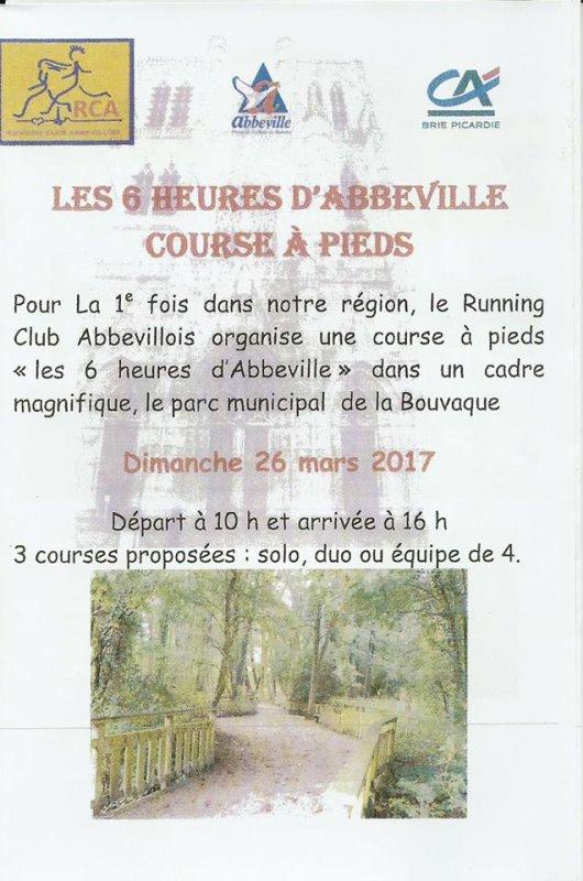 les 6 heures d'Abbeville , dimanche 26 mars 2017 , Somme , des Hauts de France ...