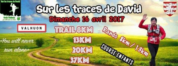 sur les traces de David , Trail du dimanche 16 avril 2017 , Pas de Calais ...