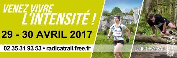 le Radicatrail , samedi 29 avril 2017 , Seine Maritime ...