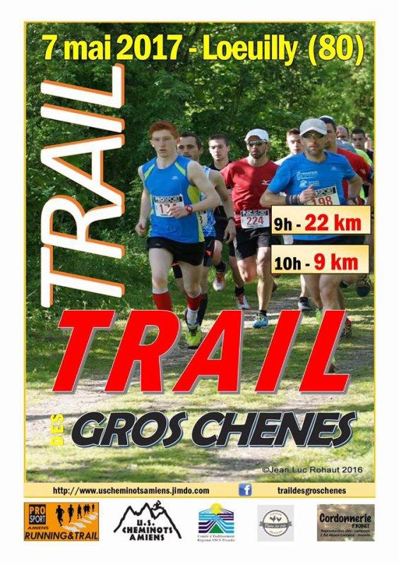 trail des gros chênes , dimanche 7 mai 2017 , somme ...