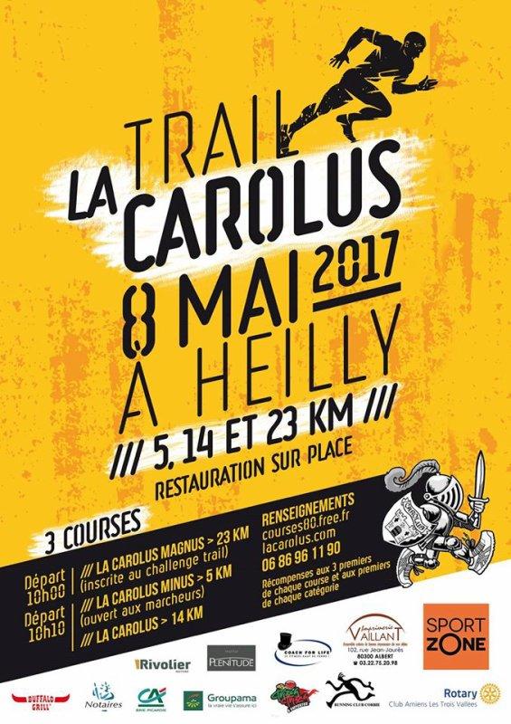 Trail La Carolus , lundi 8 mai 2017 , Picardie des hauts de France ...