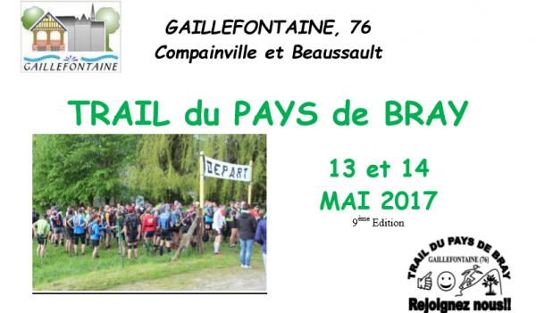 Trail du pays de Bray , dimanche 14 mai 2017 , Normandie ...
