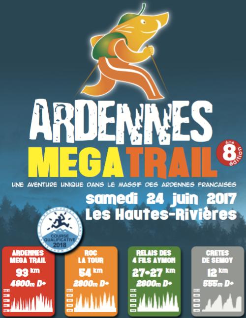 l'Ardennes Méga Trail , samedi 24 juin 2017 ...