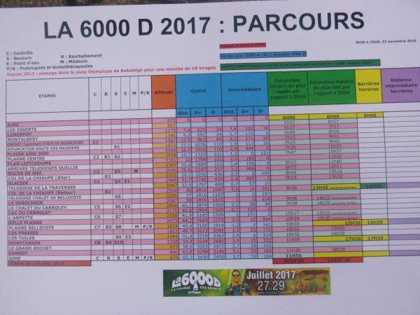 La 6000 D , la course des géants , La Plagne , juillet 2017 ...