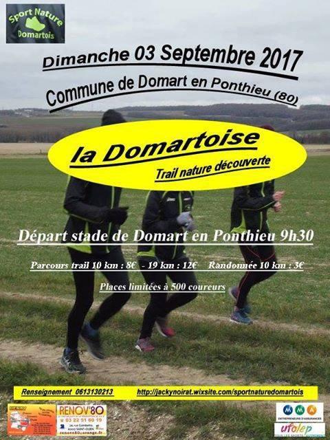 la Domartoise , dimanche 3 septembre 2017, Picardie ...