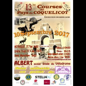 Course du pays du Coquelicot , dimanche 10 septembre 2017 , Somme ...