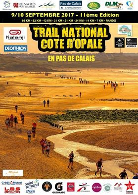 Trail de la Cote d'Opale , dimanche 10 septembre 2017 , Pas-De-Calais ...