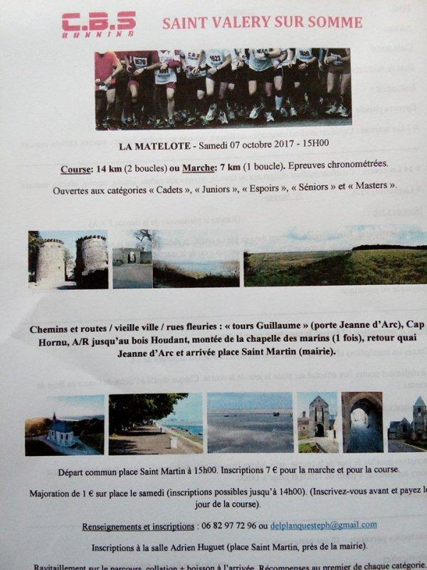 La Matelote , samedi 7 octobre 2017 , Somme ...