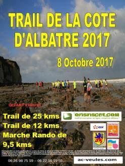 Trail de la Cote d'albâtre , dimanche 8 octobre 2017 , Seine Maritime , Normandie ...